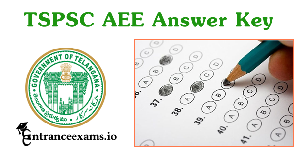 Telangana AEE Answer key 2017 Released   TSPSC Asst Executive Engineer Key for 27th, 28th August 2017 Exam