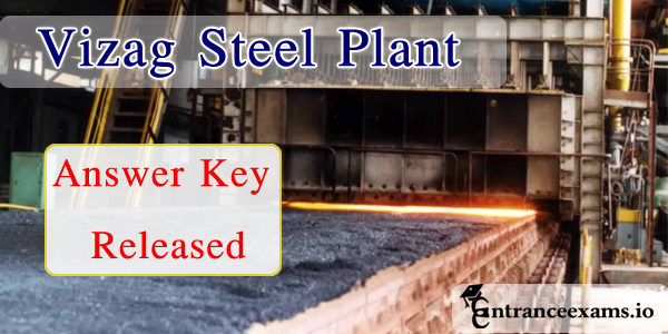 Vizag Steel Plant Junior Trainee Answer Key 2017 Download @ vizagsteel.com