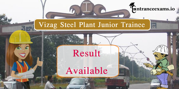 Vizag Steel Plant Results 2021 | Download RINL VSP JT Result @ vizagsteel.com