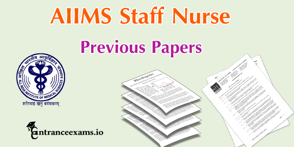 AIIMS Delhi Staff Nurse Question Paper Pdf Free Download | aiims.edu Nursing Officer Exam Papers