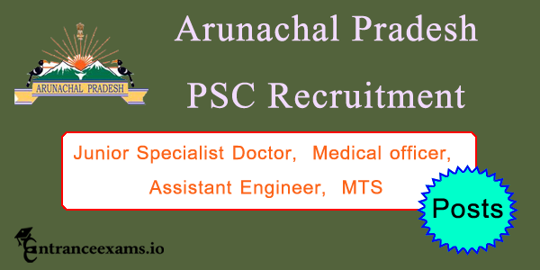 Arunachal Pradesh PSC Recruitment 2017   APPSC Upcoming Jobs