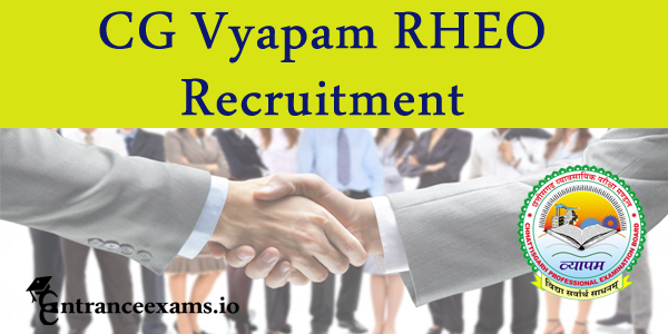 CG Vyapam Recruitment 2017   Apply Chhattisgarh 716 Grade 3, Inspector, ADEO & RHEO Posts @ cgvyapam.choice.gov.in