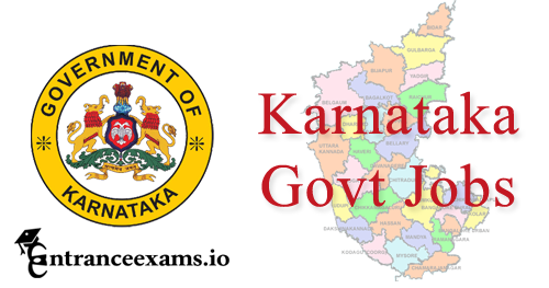Govt Jobs in Karnataka 2017 18 | Current Job Openings in Karnataka State Govt