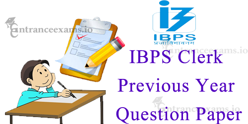 Download IBPS Clerk Model Papers PDF   CWE Clerk VII Previous Question Papers