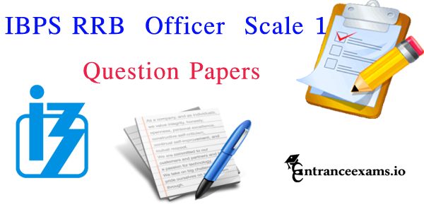Download IBPS RRB Officer Scale 1 Previous Question Paper Pdf @ ibps.in