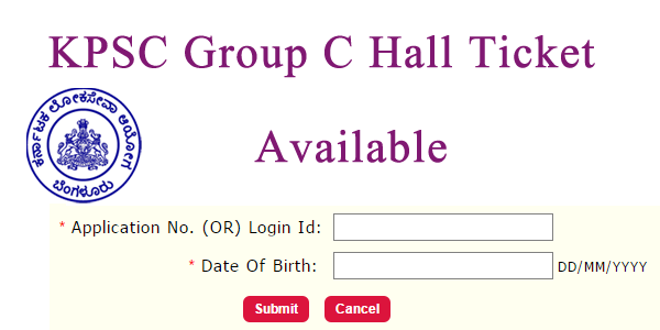 KPSC Technical and Non Technical Hall Ticket 2018   Karnataka PSC Admit Card for Group C Exam