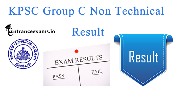 Karnataka PSC Group B & C Non techncial Result 2017   KPSC Group C Results 2017