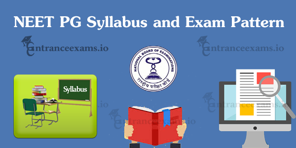Download NEET PG 2018 Syllabus Pdf | Check NEET Medical PG Exam Pattern 2018