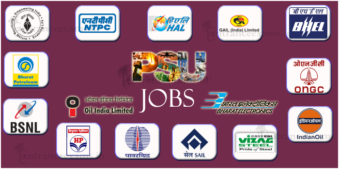 PSU Jobs 2018 | PSU through GATE 2018 2019 | List of PSU Companies