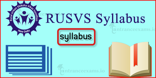 RUSVS Public Relation Assistant Syllabus 2017   New Delhi RUSVS Exam Pattern