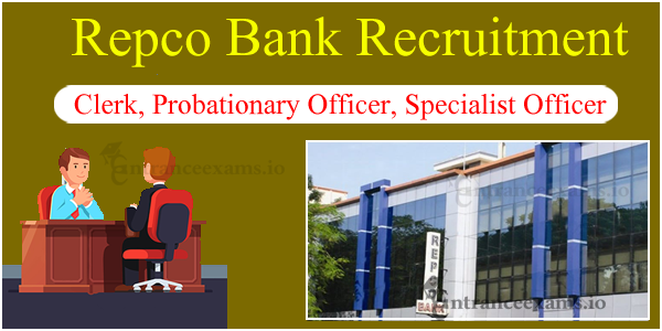 Upcoming Repco Bank Exam 2017 | Repco Bank Latest Notification 2017 2018 @ repcobank.com