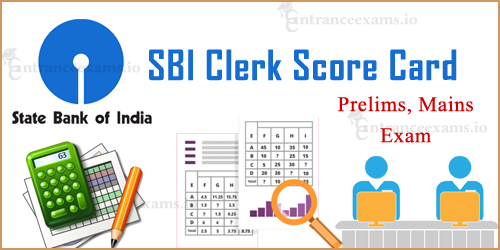 SBI Clerk 2018 Score Card | SBI JA JAA Score Card Download Steps @ sbi.co.in