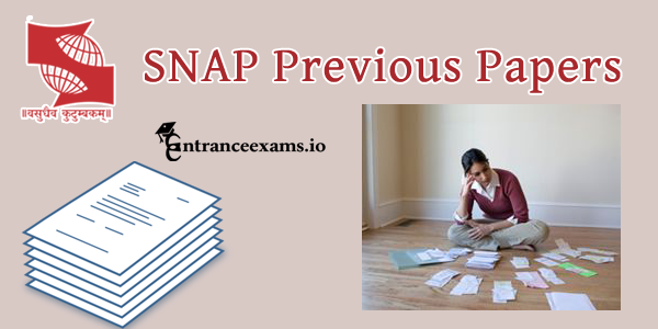 Symbiosis National Aptitude Test (SNAP) Previous Year Papers   Download Last 10 Years SNAP Test Papers