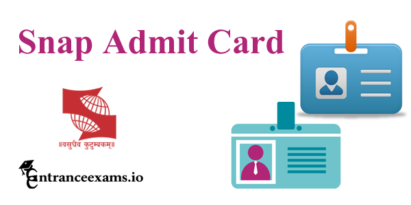 SNAP 2020 Admit Card | Download SNAP Hall Ticket 2020 @ snaptest.org