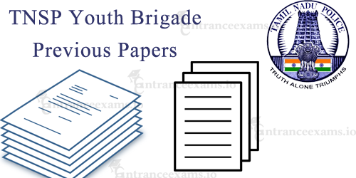TNSP Youth Brigade Previous Question Papers | TNUSRB Model Question Papers