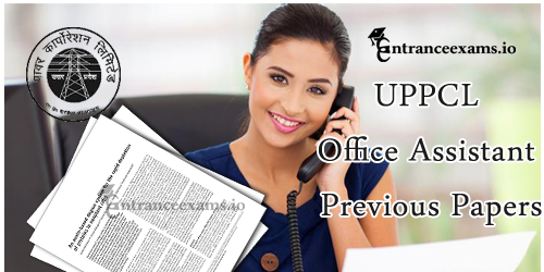 UPPCL Office Assistant Previous Year Papers PDF | UPPCL Steno Gr III, ARO Model Papers
