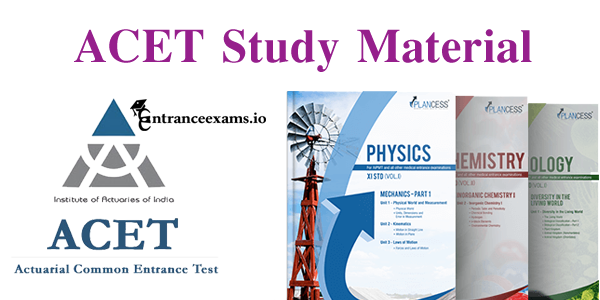 ACET Study Material Pdf | Actuary ACET Useful Notes & Books Download @ www.actuariesindia.org