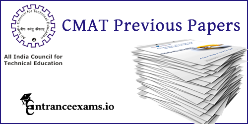 Last 5 Years CMAT Sample Papers Pdf download @ aicte cmat.in