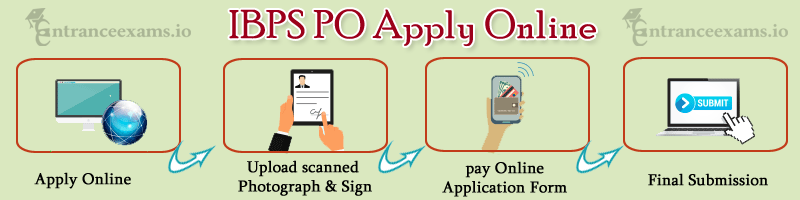 IBPS PO Apply Online Steps   CWE VII PO/ MT Online Registration process
