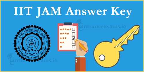 IIT JAM Answer Key for Physics, Chemistry & Maths Download @ jam.iitd.ac.in