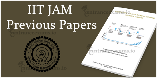 IIT JAM Previous Year Question Paper Pdf download @ jam.iitd.ac.in