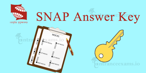 SNAP Answer Key & Solutions | Download SNAP 2017 Answer Key @ snaptest.org