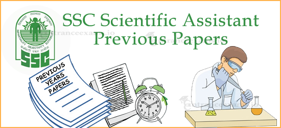 SSC Scientific Asst Previous Papers Pdf Download @ ssc.nic.in