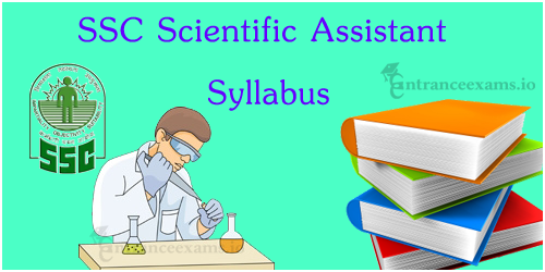 SSC Scientific Assistant Exam Syllabus 2017   SSC SA Exam Pattern for IMD Recruitment