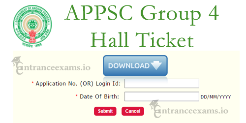 Andhra Pradesh Group 4 Hall Tickets on psc.ap.gov.in | APPSC Gr IV (Junior Assistant) Admit Card