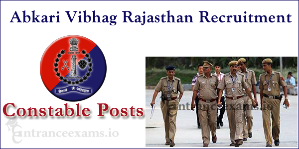 Rajasthan Abkari Vibhag Recruitment 2017   950 Rajasthan Excise Constable posts