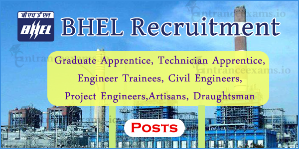 Upcoming BHEL Recruitment 2018 | BHEL India Current Openings @ www.bhel.com