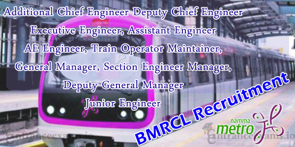 Bangalore Metro Latest Notification 2017 18 | BMRC Jobs for Engineers @ bmrc.co.in