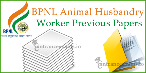 Bharatiya Pashupalan Nigam Ltd Animal Husbandry Worker Model Papers @bharatiayapashupalana.com