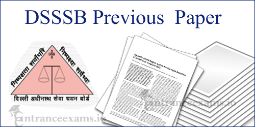 Delhi SSSB Patwari Previous Year Question Paper | DSSSB Previous Paper @ delhi.gov.in