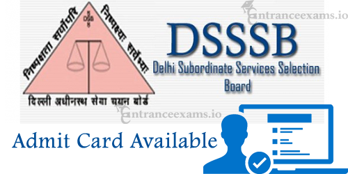 Download DSSSB PGT TGT/ JE Hall Ticket 2017 | Delhi Subordinate Teacher Call Letter 2017 @ dsssbonline.nic.in