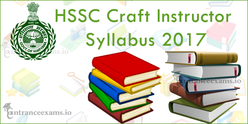 Haryana Craft Instructor Syllabus 2017 | hssc.gov.in Computer Operator Syllabus, Test Pattern
