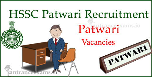 Haryana Patwari Recruitment 2017   1136 HSSC Tehsil Patwari Jobs