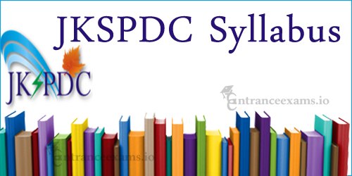 Download JKSPDC Jr Engineer Syllabus | Geological Asst, Surveyor, Junior Assistant Syllabus