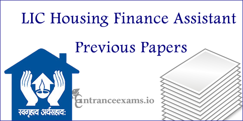 LIC HFL Asst Solved Papers | Life Insurance Corporation HFL Assistant Old Papers @ licindia.in