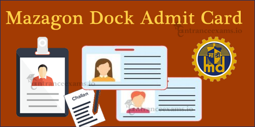 Download MDL Admit Card 2017   Mazagon Dock Apprentice Exam Date @ mazdock.com