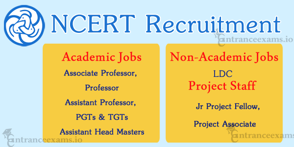 NCERT Assistant Professor Recruitment 2017 18 | NCERT Latest Vacancy @ ncert.nic.in