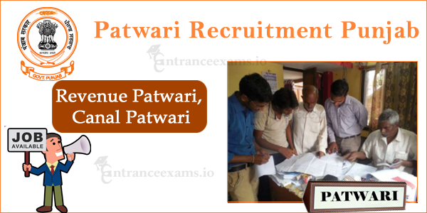 Punjab Patwari Recruitment 2017 18 | Board of Revenue Punjab Latest Jobs