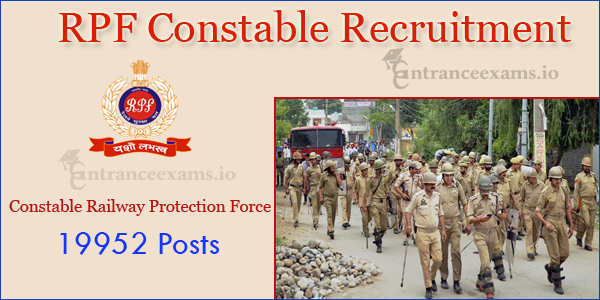 RPSF RPF Recruitment 2017 | Apply Online for 19952 RPF Constable Vacancy @ indianrailways.gov.in