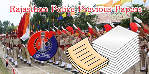 Rajasthan Police Constable Previous Years Question Papers | Raj Police Exam Model Papers