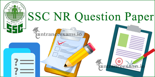 Staff Selection Commission NR Technical Assistant Model Papers | SSC NR Old Papers