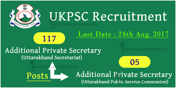UKPSC APS Assistant Professor Recruitment 2017   Apply 999 UKPSC Vacancies