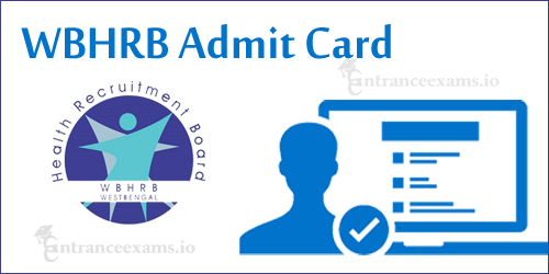 WBHRB Staff Nurse Admit Card 2017   Download West Bengal GNM Grade II Hall Ticket