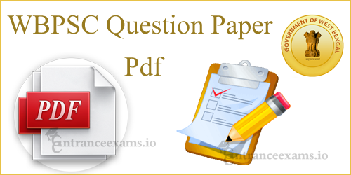 WBPSC Miscellaneous Model Papers @ pscwbapplication.in