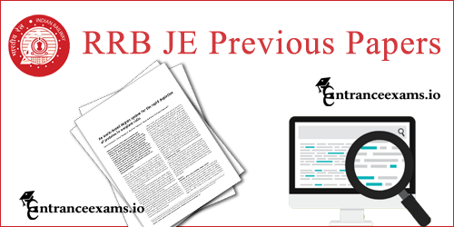 Download RRB JE Question Paper Solved pdf | Indian Railways JE Solved Papers