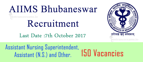 AIIMS Bhubaneswar Recruitment 2021 | 1077 Staff Nurse, Nursing Superintendent Jobs @ aiimsbhubaneswar.edu.in